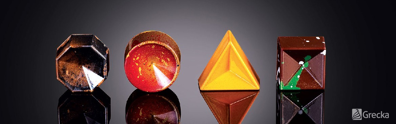 Moldes de policarbonato para chocolatería | Grecka Chile