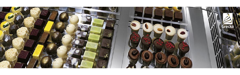 Vitrinas para Chocolates con control de humedad| Grecka Chile